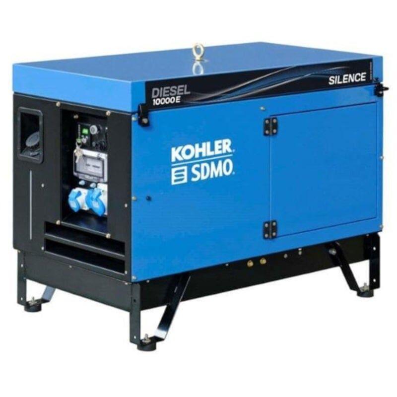 Sdmo Groupe électrogène monophasé diesel silencieux 9 kW