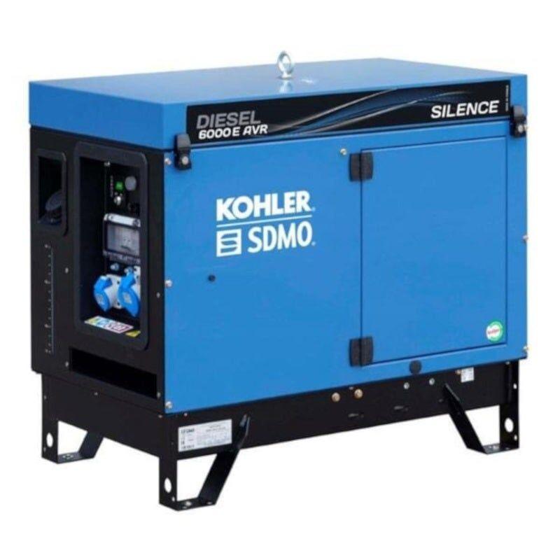 Sdmo Groupe électrogène monophasé diesel silencieux AVR 5.2 kW
