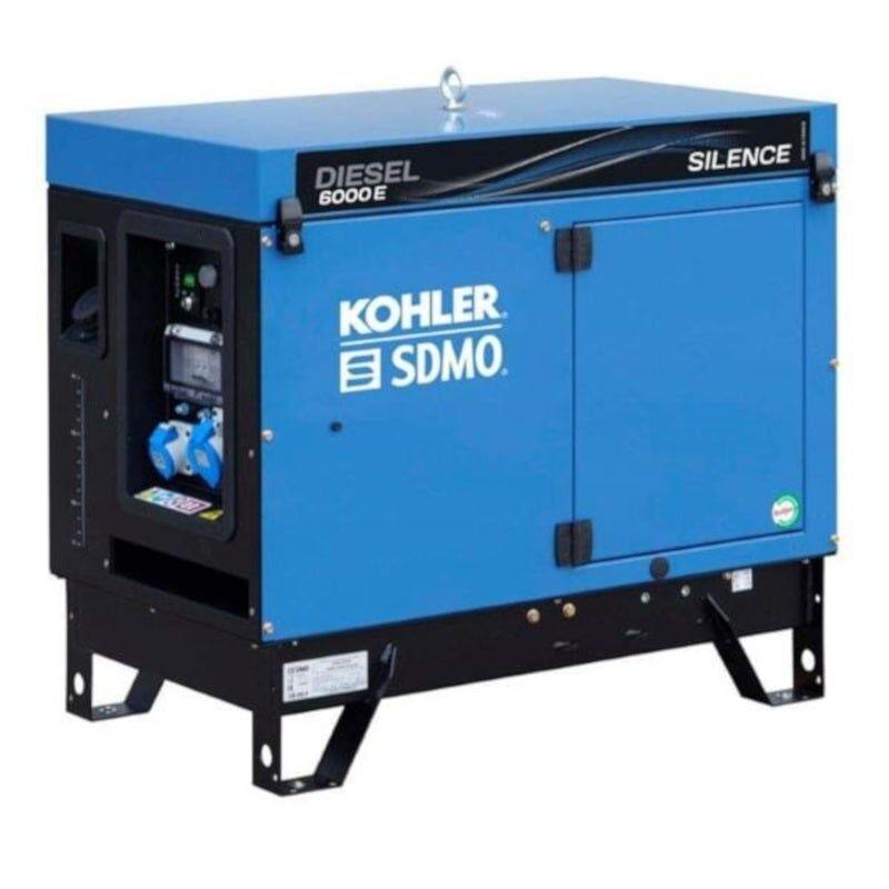 Sdmo Groupe électrogène monophasé diesel silencieux 5.2 kW