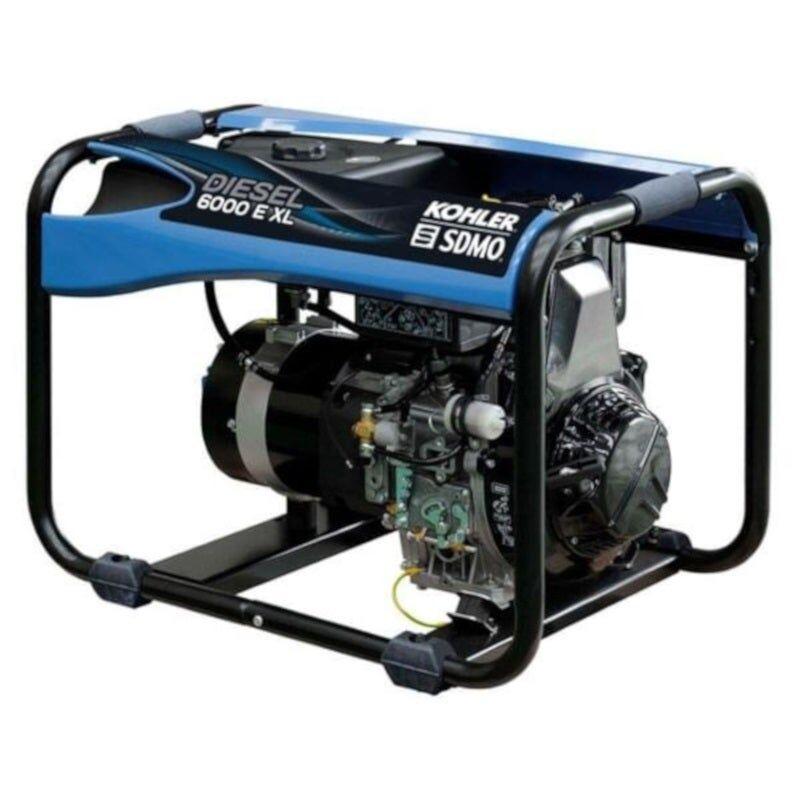 Sdmo Groupe électrogène monophasé diesel 5.2 kW XL