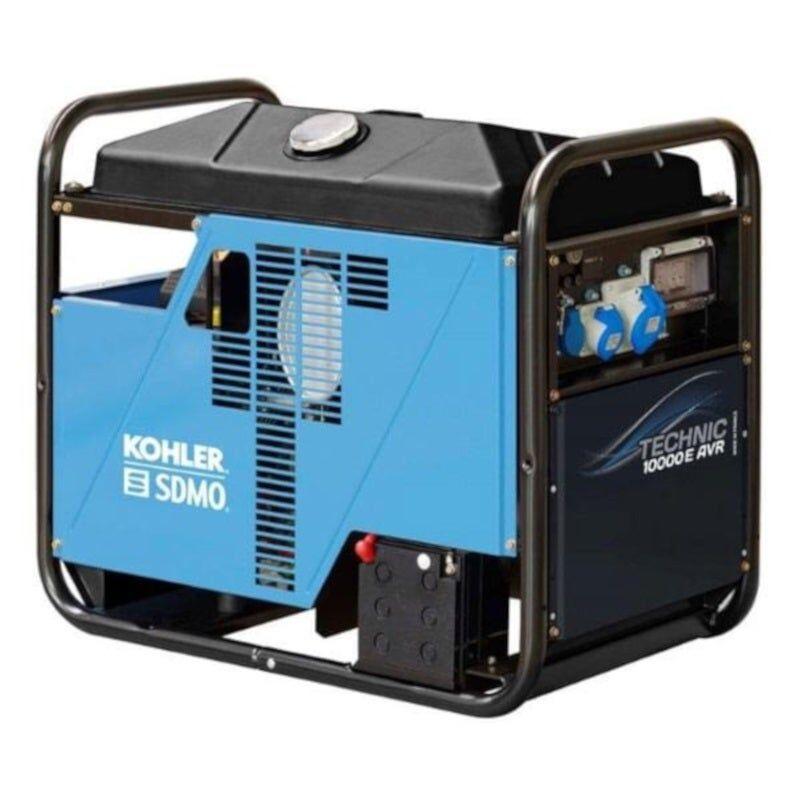 Sdmo Groupe électrogène monophasé essence Technic 10 kW AVR