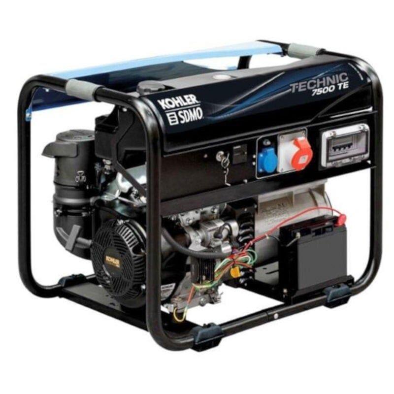 Sdmo Groupe électrogène triphasé Technic 6.5 kW