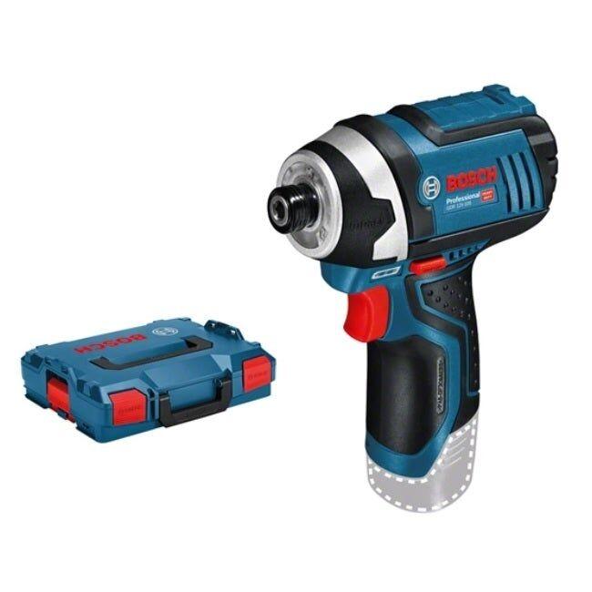 Bosch Visseuse à chocs sans-fil GDR 12V-110 (sans batterie ni chargeur) + 2 calages L-Boxx pour accessoires & outils + coffret L-Boxx