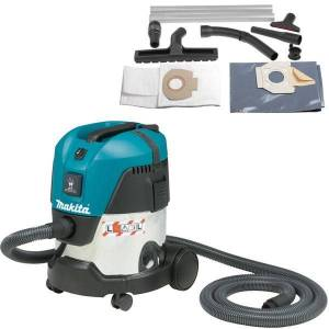 Makita Aspirateur 15 l 1000 W 210 mbar ( kit d'accessoires)