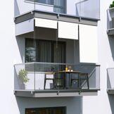 Jarolift Store Extérieur Vertical, Blanc, 180 x 140 cm
