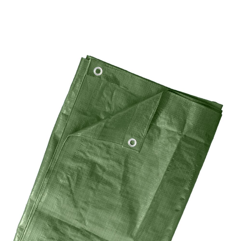 Jarolift Bâche de protection, Vert, 4x5 m, PE 90 g/m²