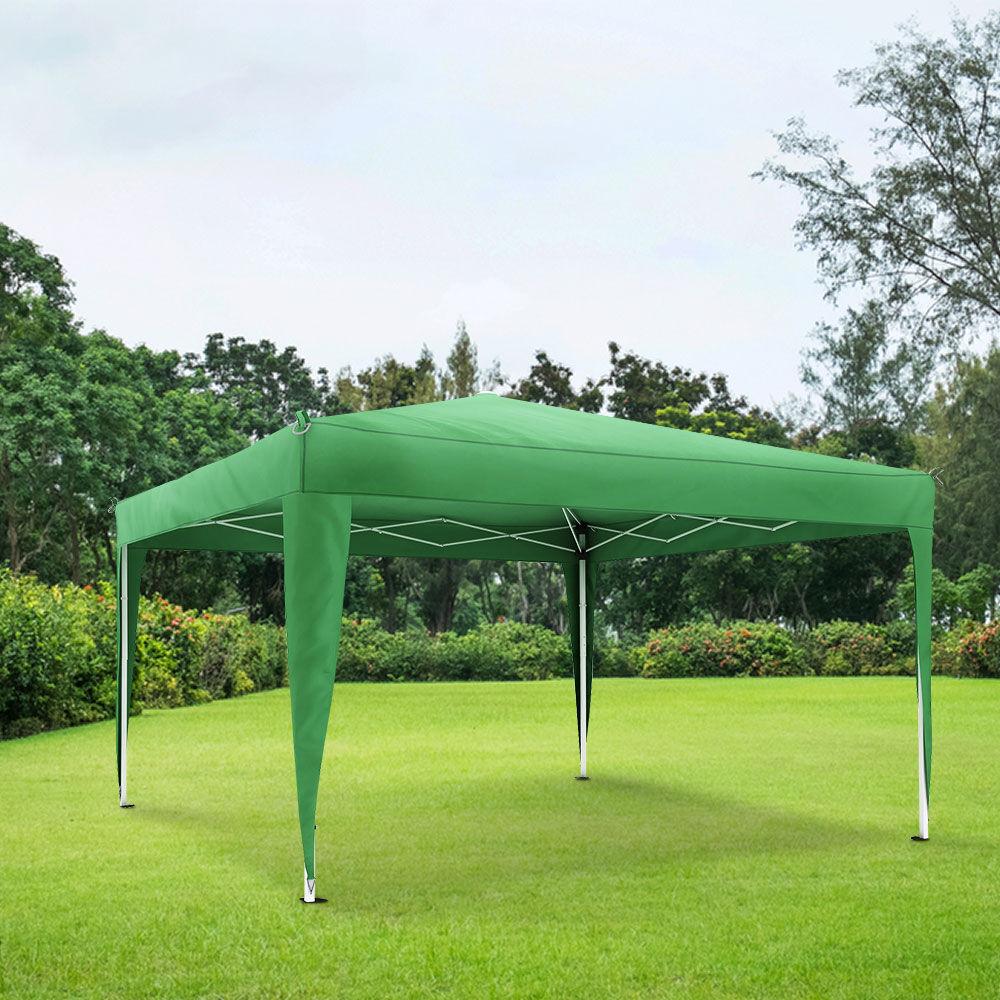 Jarolift Structure De Tonnelle Avec Toit Premium 3x3 M Vert