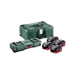 METABO Pack énergie 18V 4 x 8Ah LiHD + chargeur double - 685135000 - Publicité