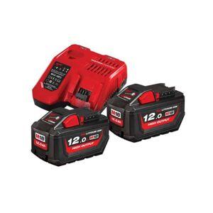 MILWAUKEE Pack batteries M18 HNRG-122 18V 2x12Ah - 4933464261 - Publicité