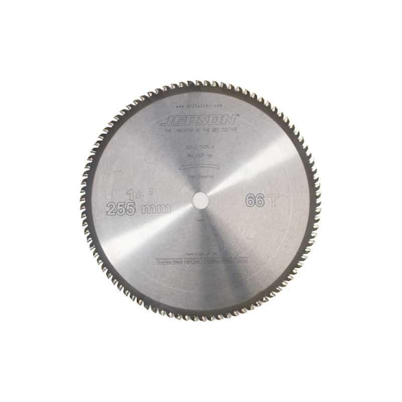 JEPSON Power JEPSON Lame de scie carbure Ø255mm - Acier mince - 600654
