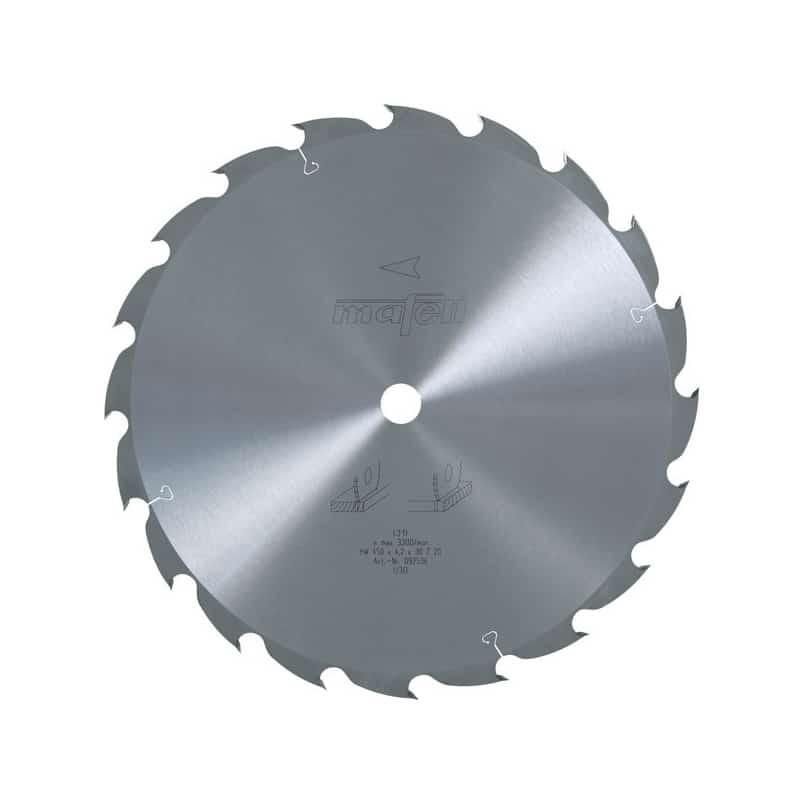 MAFELL Lame scie carbure 450mm 20 dents pour MKS185Ec - 092536