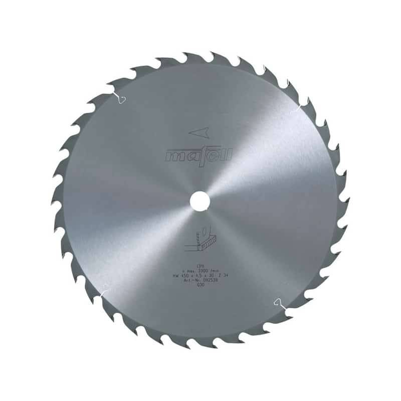 MAFELL Lame scie carbure 450mm 34 dents pour MKS185Ec - 092538