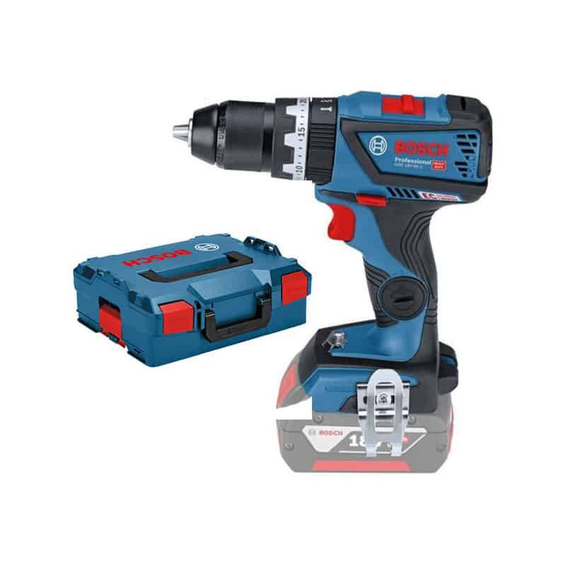 BOSCH Perceuse visseuse percussion 18V solo GSB18V-60CZ - 06019G2103
