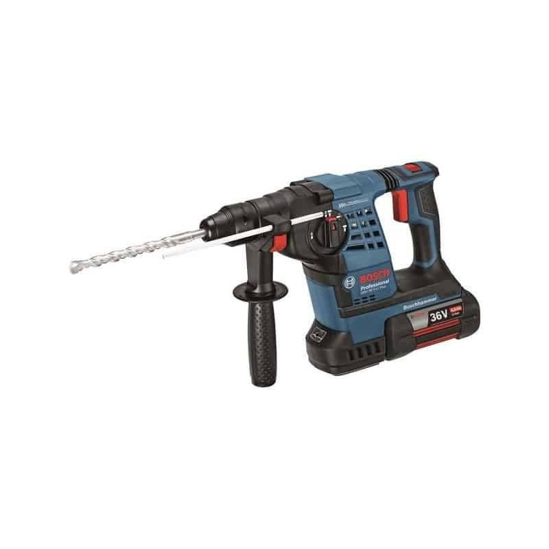 Bosch perforateur burineur 36v 4ah - gbh36v-li plus - 0611906003