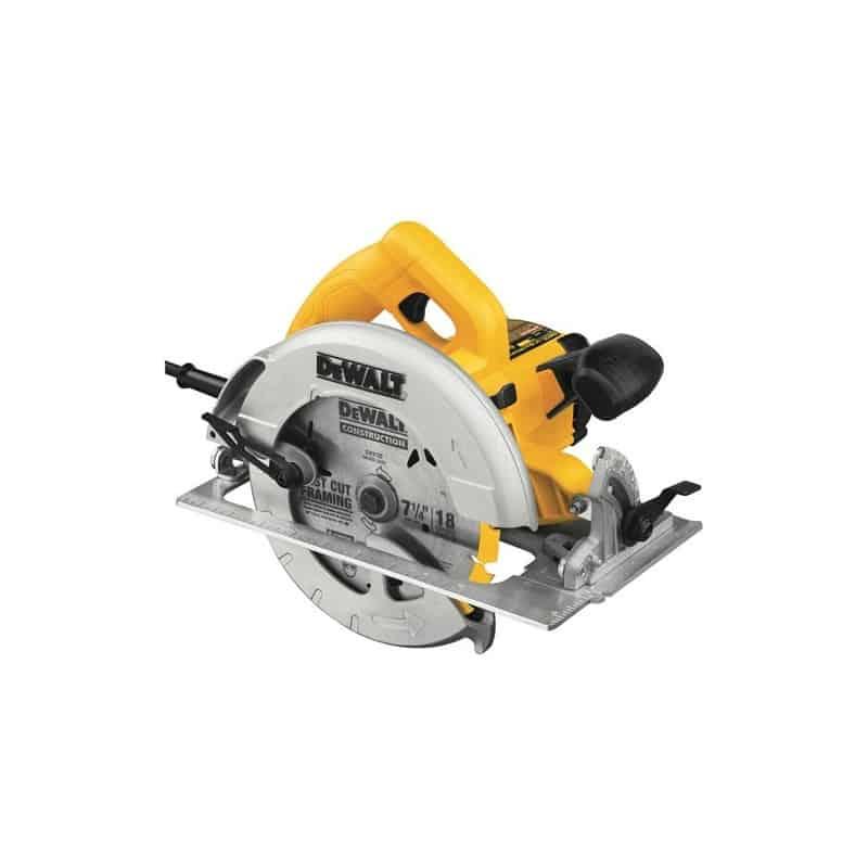 DEWALT Scie circulaire Ø190 mm 1600W + coffret - DWE575K