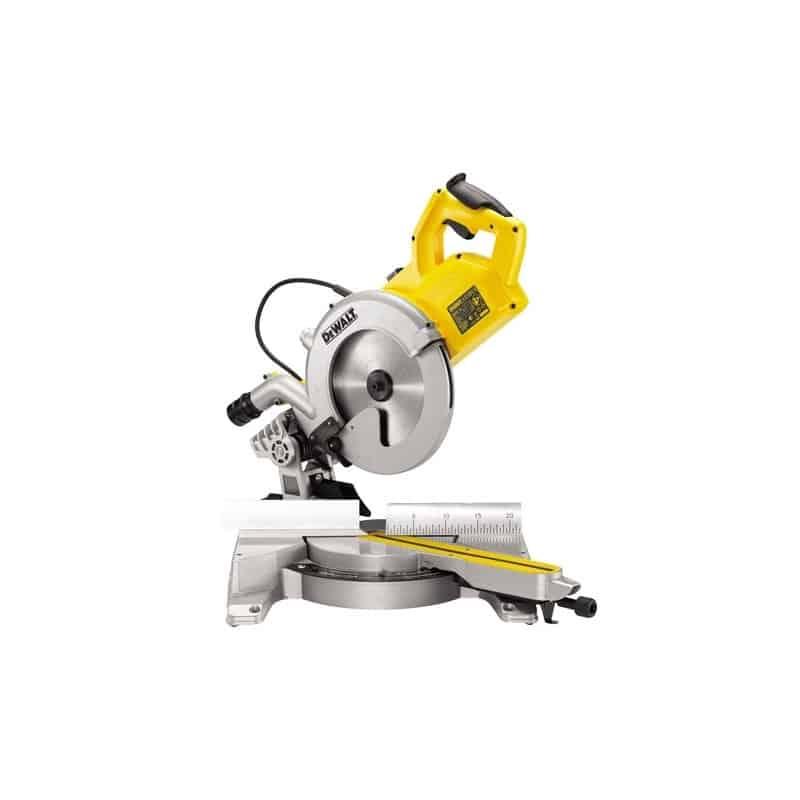 DEWALT Scie radiale + onglets 1800 W Ø 250 mm - DWS778