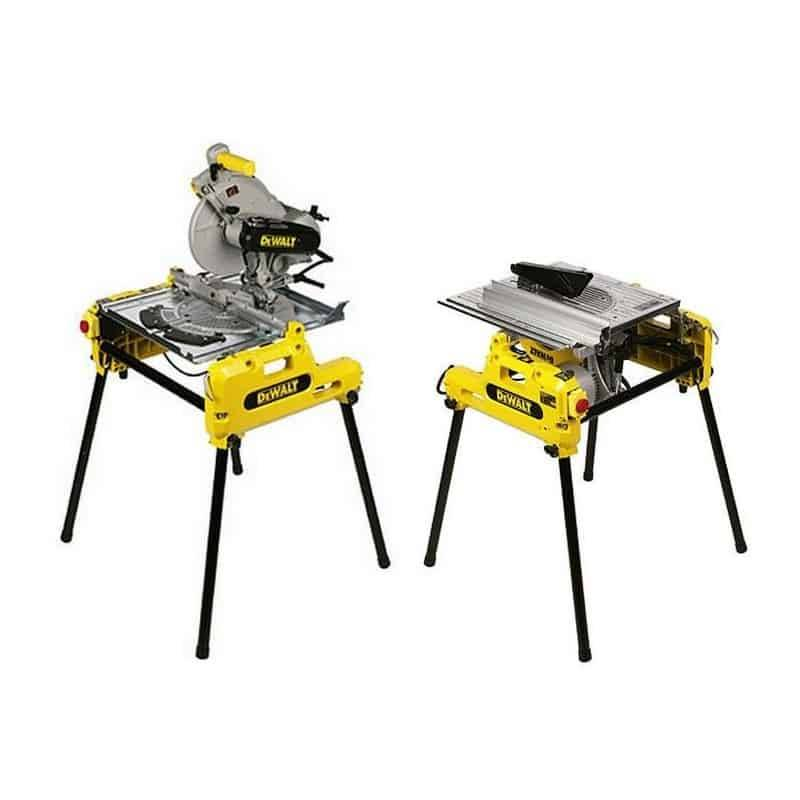 DEWALT Scie sur table et onglet réversible 2000W Ø250mm -DW743N