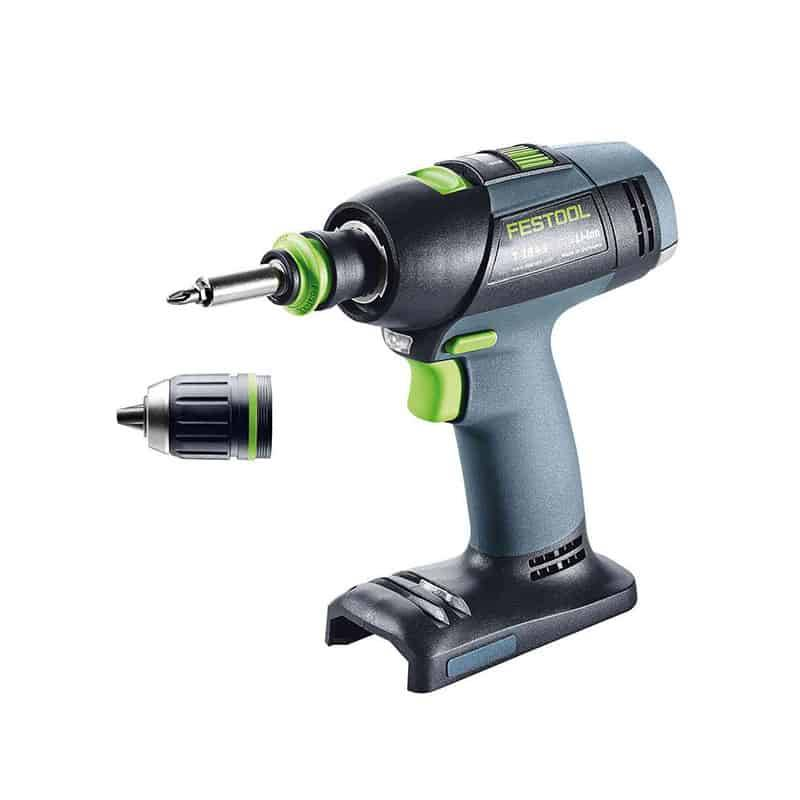 FESTOOL Perceuse visseuse 18V T18+3 Li-Basic - 576448 - 577051