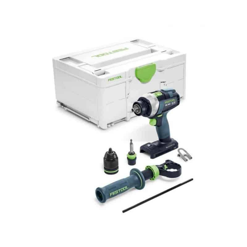 FESTOOL Perceuse visseuse 18V TDC 18/4 I-Basic - 575601 - 577052