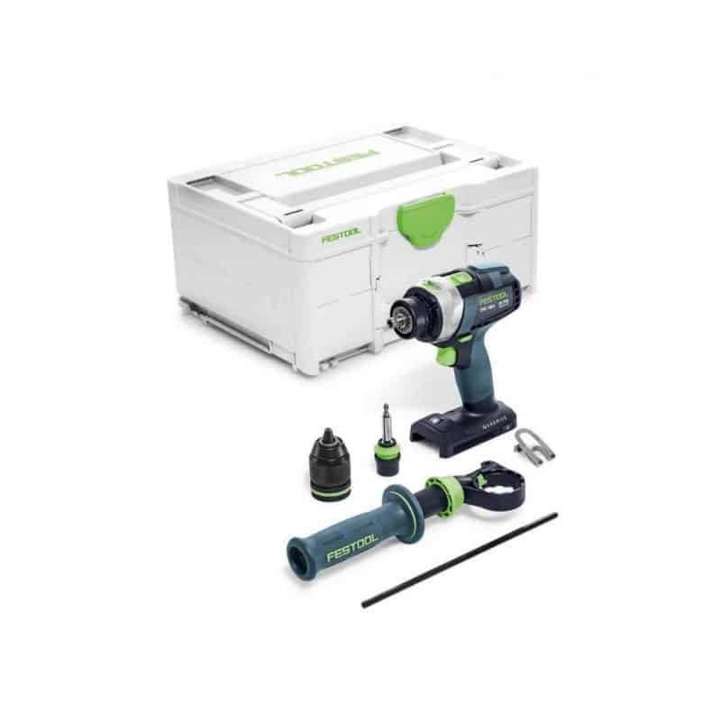 FESTOOL Perceuse visseuse percu 18V TPC 18/4 I-Basic - 575604 - 577053