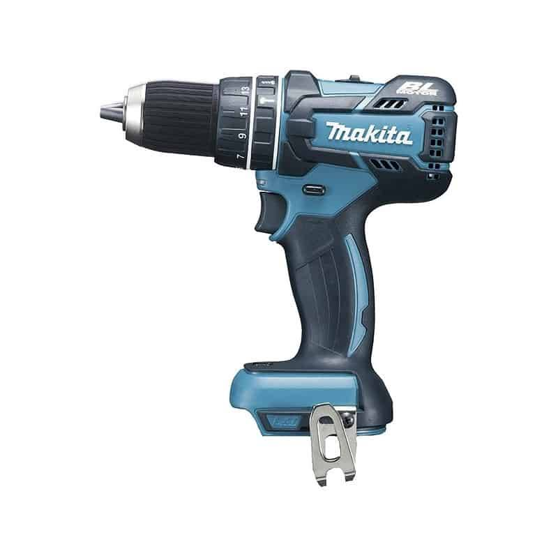 Makita perceuse visseuse à percussion 18 v li-ion - dhp484 solo