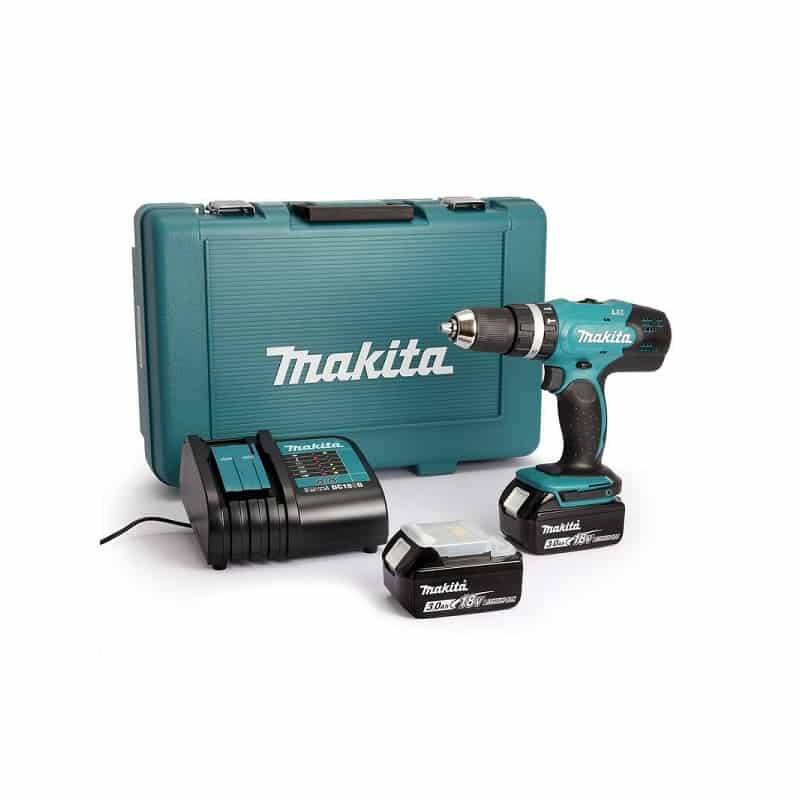 MAKITA Perceuse visseuse percussion 18V 3Ah - DHP453SFE