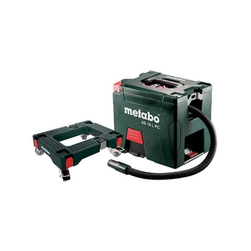 METABO Aspirateur sans fil 18V solo AS18LPC + Roulettes - 691060000