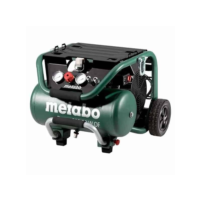 METABO Compresseur d'air sans huile 20L POWER 400-20WOF - 601546000