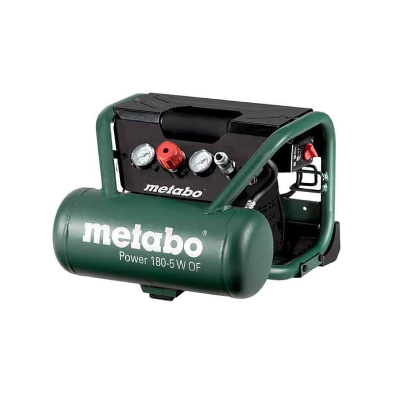 METABO Compresseur d'air sans huile 5L POWER 180-5WOF - 601531000