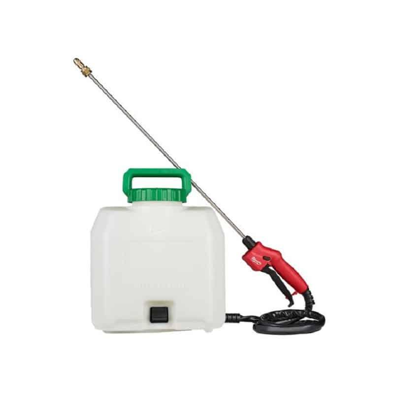 MILWAUKEE Cuve produits chimiques + lance + tuyau M18 BPFP-CST - 4933464964