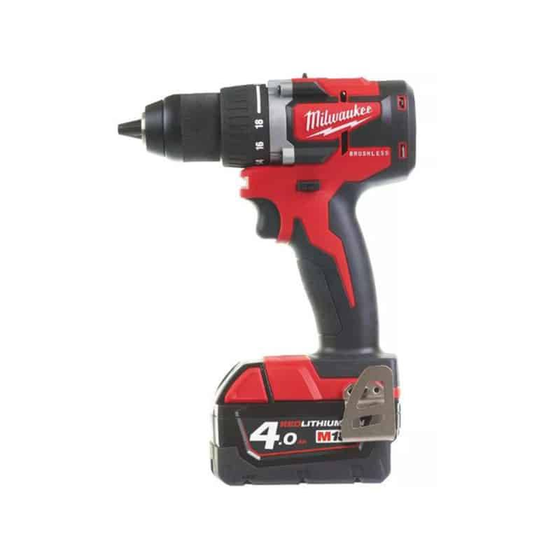 Milwaukee perceuse visseuse 18v 4ah m18 cbldd-402c - 4933464539