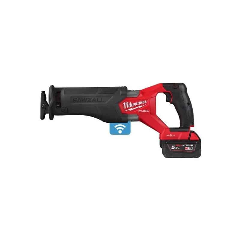 MILWAUKEE Scie sabre One-key 18V 5Ah - M18ONEFSZ-502X - 4933478294