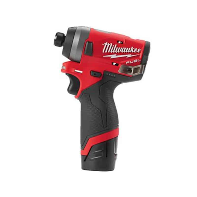 MILWAUKEE Visseuse à chocs 12V 2.0Ah FUEL M12 FID-202X - 4933459823
