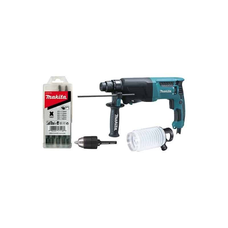 Makita Sds-plus perforateur makita hr2600x9 - 800 w 2,4 j