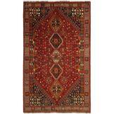 Nain Trading Tapis Ghashghai 267x162 Moderne/Design Marron/Rouille (Noué à la main, Laine, Perse/Iran)