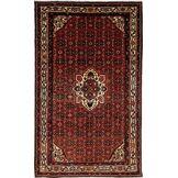 Nain Trading Tapis Hosseinabad 334x207 Gris Foncé/Marron Foncé (Laine, Perse/Iran, Noué à la main)