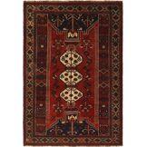 Nain Trading Tapis D'orient Ghashghai 256x175 Marron Foncé/Violet (Perse/Iran, Laine, Noué à la main)