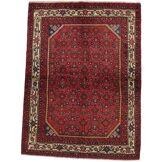 Nain Trading Tapis Fait Main Mehraban 197x149 Marron Foncé/Rouille (Laine, Perse/Iran)