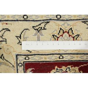 Nain Trading Tapis Naïn 9La 114x78 Jaune/Rouille (Laine/Soie, Perse/Iran, Noué à la main)