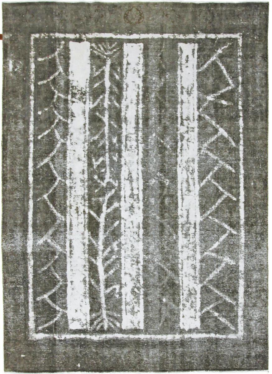 Nain Trading Tapis D'orient Vintage Royal 322x232 Gris Foncé/Marron Foncé (Perse/Iran, Laine, Noué à la main)