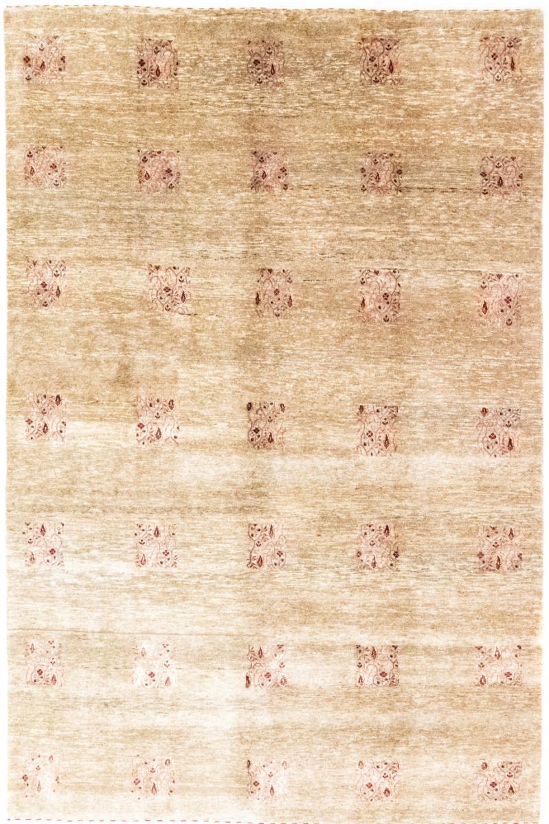 Nain Trading Tapis Authentique Gabbeh Loribaft 257x165 Beige/Rose (Laine, Inde, Noué à la main)