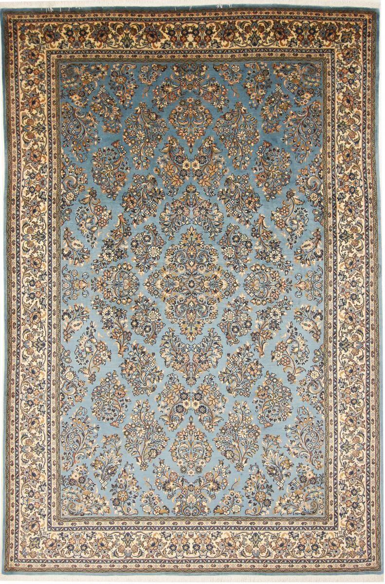 Nain Trading Tapis Persan Sarough 311x206 Sarough Beige/Bleu Clair (Noué à la main, Perse/Iran, Laine)