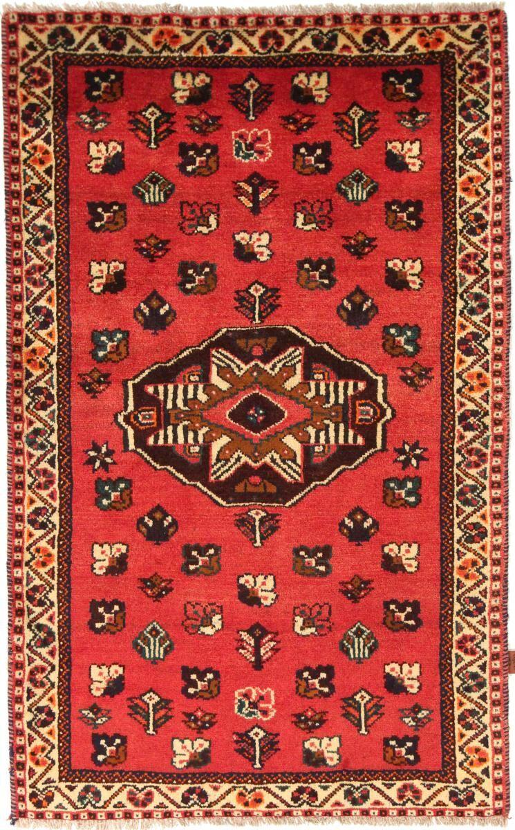 Nain Trading Tapis Fait Main Shiraz 178x101 Marron/Orange (Laine, Perse/Iran)