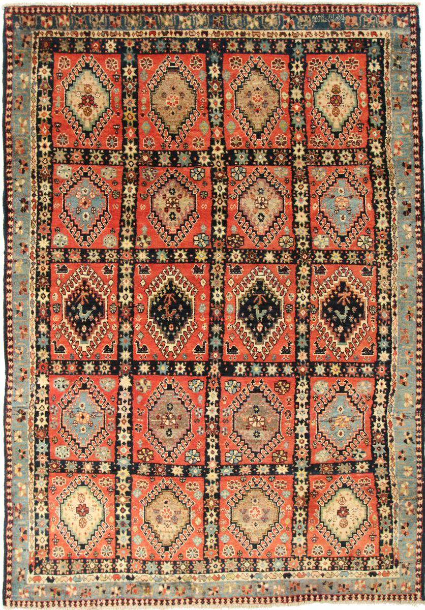 Nain Trading Tapis Persan Shiraz 304x206 Shiraz Marron/Orange (Noué à la main, Perse/Iran, Laine)