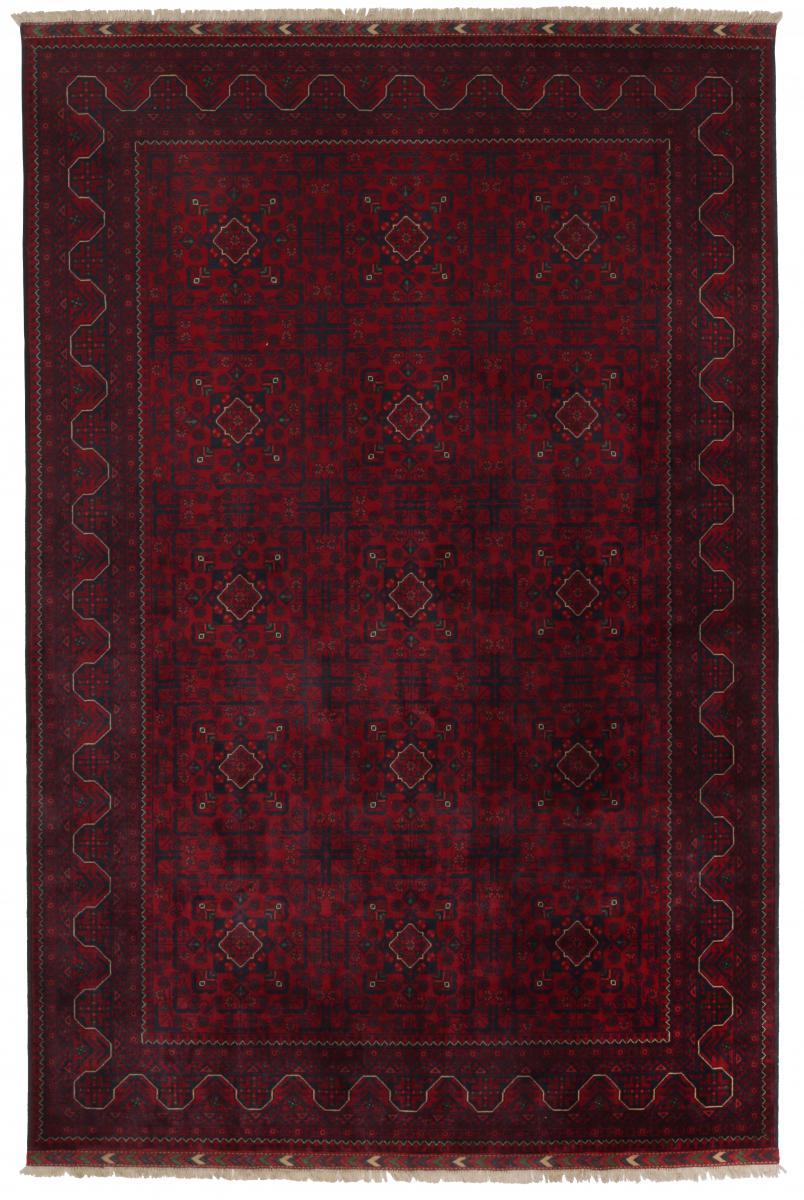 Nain Trading Tapis D'orient Khal Mohammadi Belgique 290x197 Gris Foncé/Marron Foncé (Noué à la main, Afghanistan, Laine)