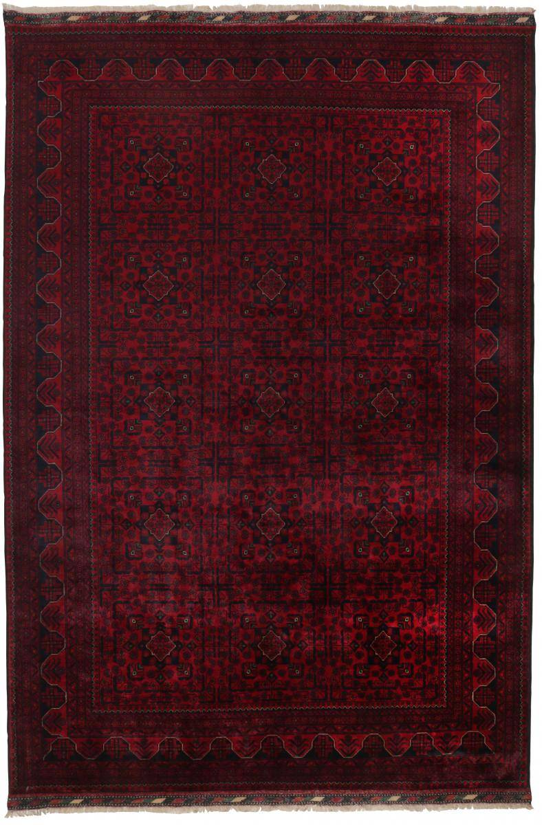 Nain Trading Tapis D'orient Khal Mohammadi Belgique 296x199 Marron Foncé (Afghanistan, Laine, Noué à la main)