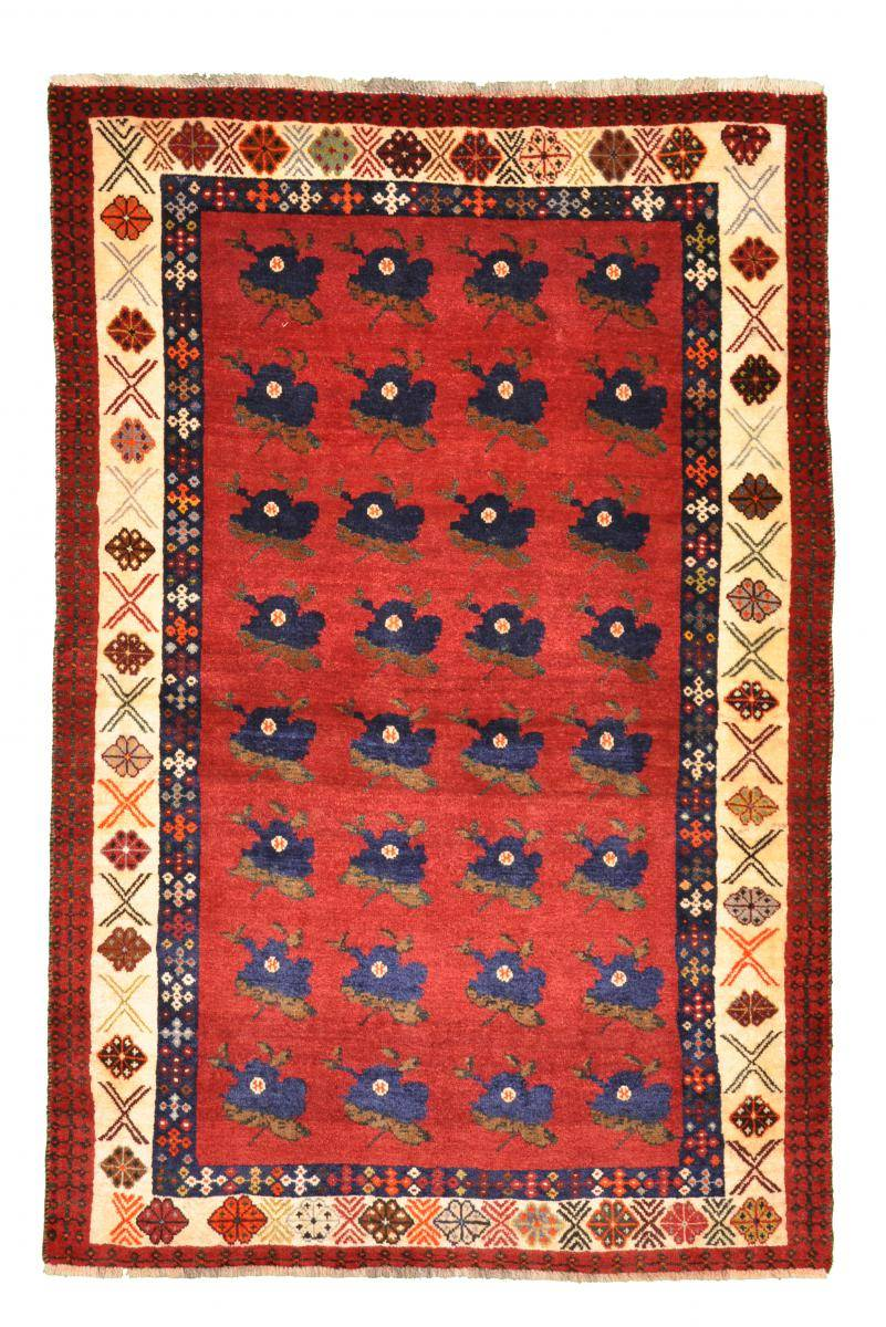 Nain Trading Tapis Fait Main Persan Gabbeh Ancien 176x116 Beige/Orange (Laine, Perse/Iran)