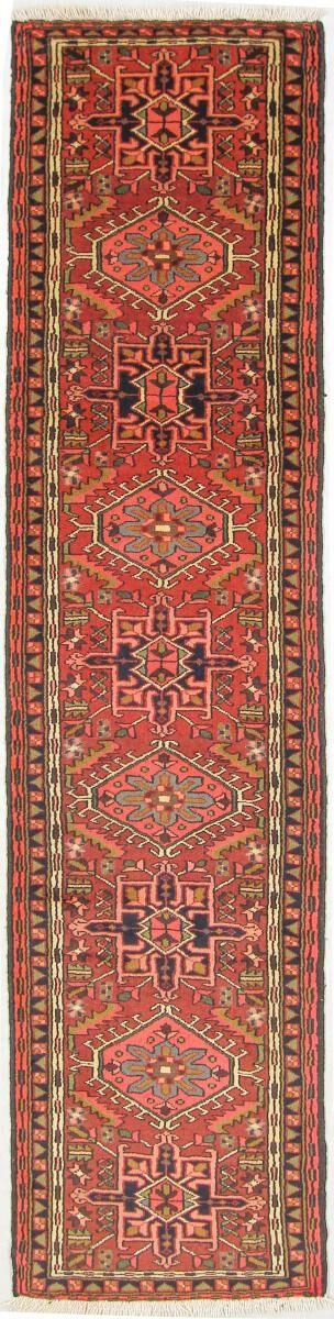 Nain Trading Tapis D'orient Gharadjeh 291x70 Orange/Rose (Perse/Iran, Laine, Noué à la main)
