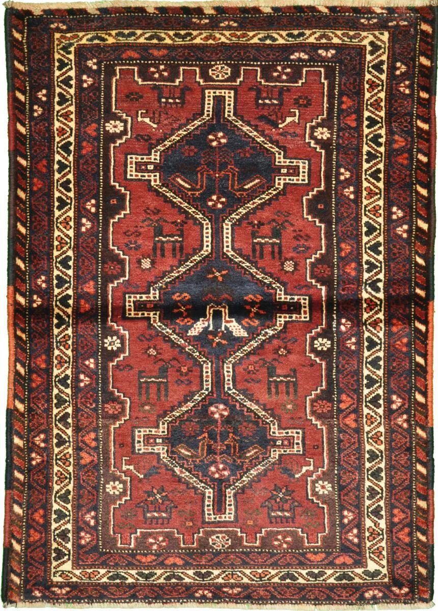 Nain Trading Tapis Shiraz 163x114 Orange/Violet (Laine, Perse/Iran, Noué à la main)