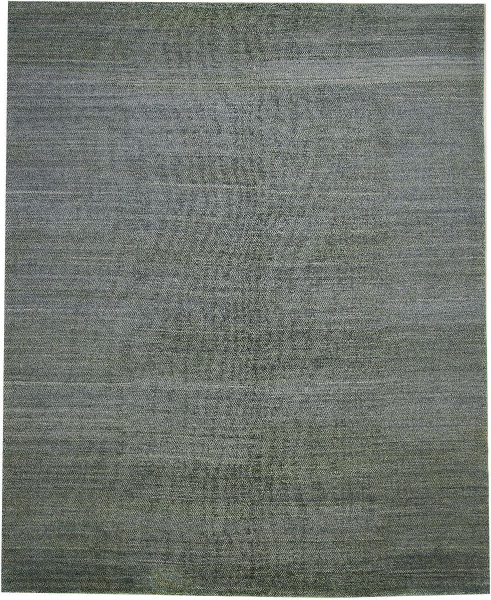 Nain Trading Tapis Persan Gabbeh Loribaft Natural 306x251 Moderne/Design Gris Foncé/Bleu Clair (Noué à la main, Laine, Perse/Iran)